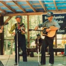Roan Mountain Hilltoppers at Seedtime, 1990