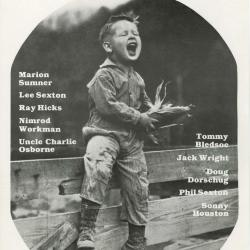 Seedtime on the Cumberland Festival poster, 1987