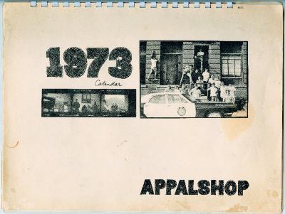 Appalshop promotional calendar, 1973