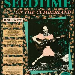 Seedtime on the Cumberland poster, 1994