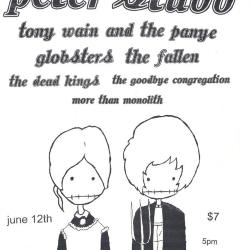 Flyer for an Annual Seedtime Punk Show