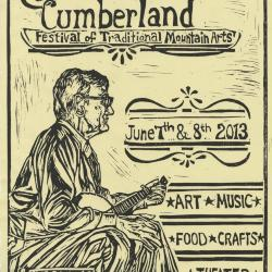 Seedtime on the Cumberland Festival poster, 2013
