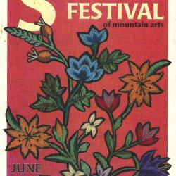 Seedtime on the Cumberland Festival poster, 2000