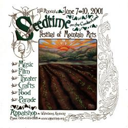 Seedtime on the Cumberland Festival poster, 2001