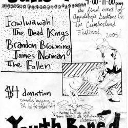 """Youth Bored Flyer: """"June 4nd"""""""