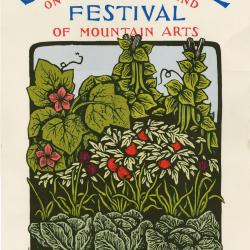 Seedtime on the Cumberland Festival poster, 1996