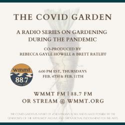 The Covid Garden radio series: Amy Richardson