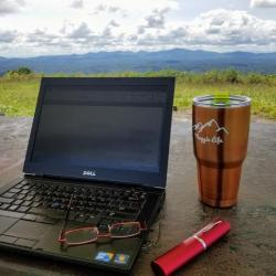 Writing on the Mountaintop