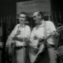The Goins Brothers at Shriners Bluegrass Festival, 1978